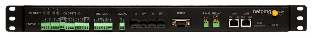 Мониторинг температуры в серверной - UniPing server solution v3SMS