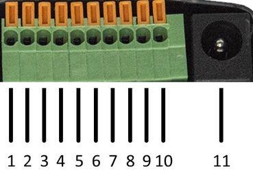 SNR-ERD-2.3 - разъем для подключения датчиков