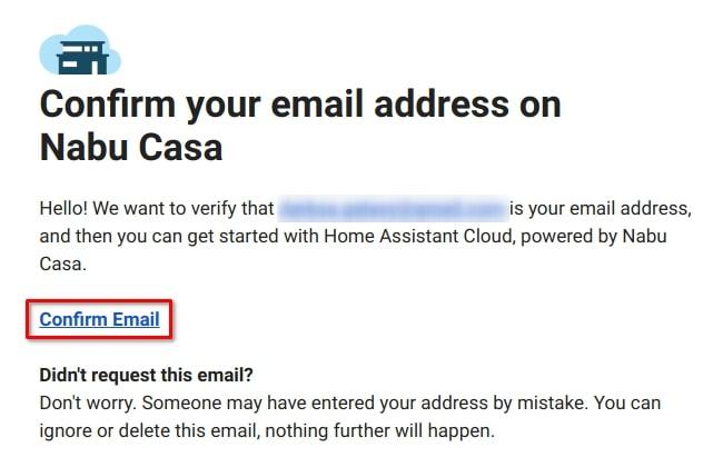 Подтверждение адреса электронной почты