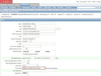 Присоединение преобразования значений в элементе данных Zabbix