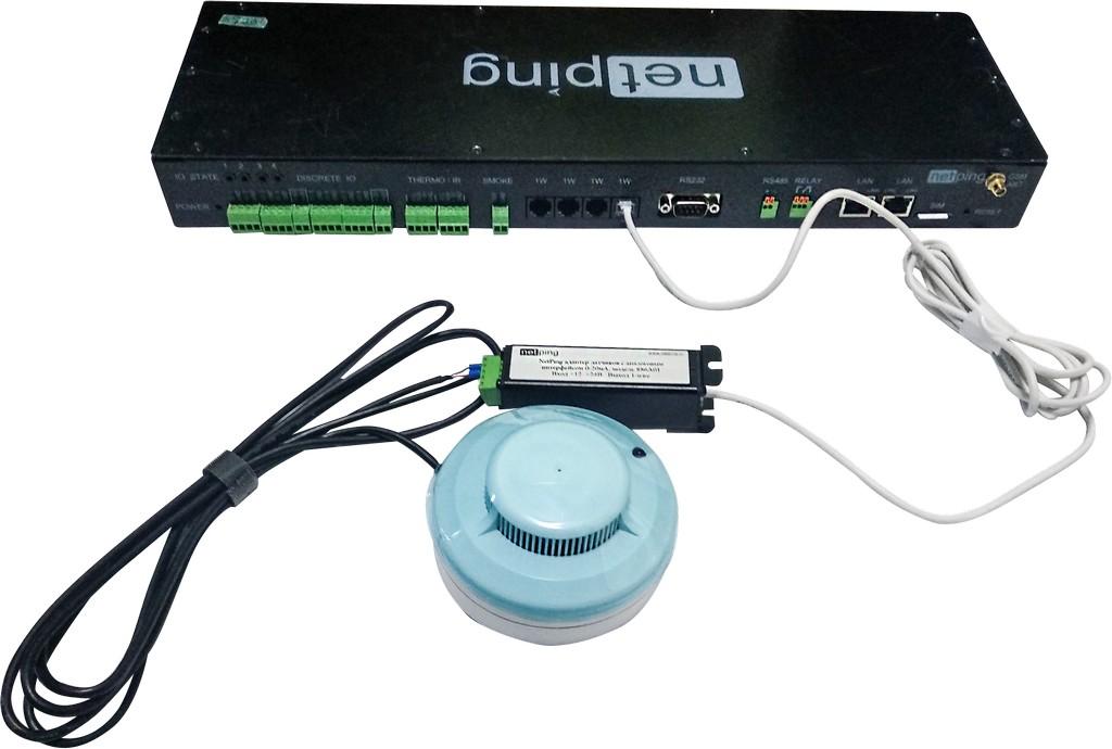 Адаптер датчиков NetPing с аналоговым интерфейсом модель 886A01