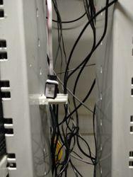 Датчик температуры TS-1 в серверной