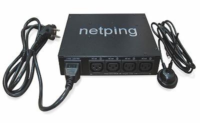 NetPing 4PWR-220 v3SMS - внешний вид