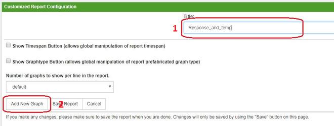 OpenNMS добавление графика в отчет для NetPing