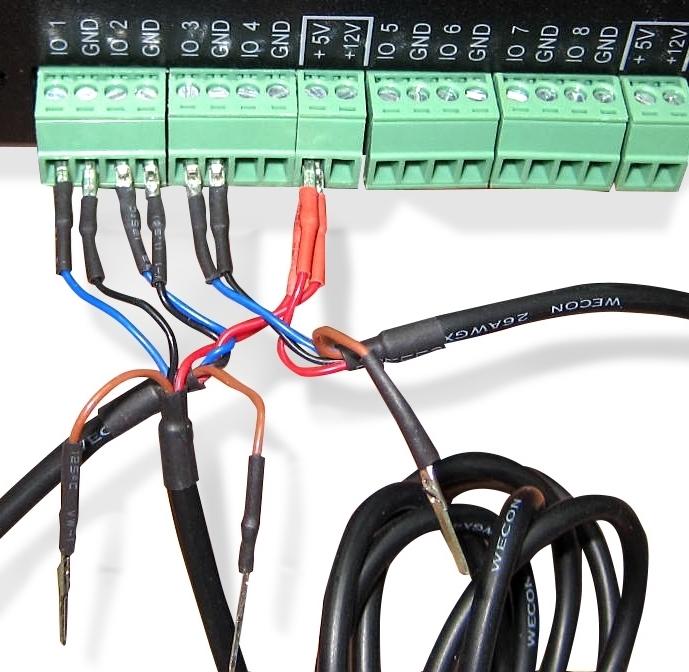 NetPing подключение датчиков