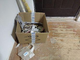 Мусорная коробка в серверной комнате