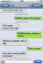 Как мониторить по SMS сенсоры в Zabbix при помощи NetPing SMS