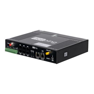 Устройство NetPing 4/PWR-220 v6.2/GSM3G