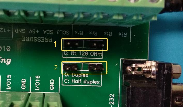 UniPing v3 connection board v2 джамперы