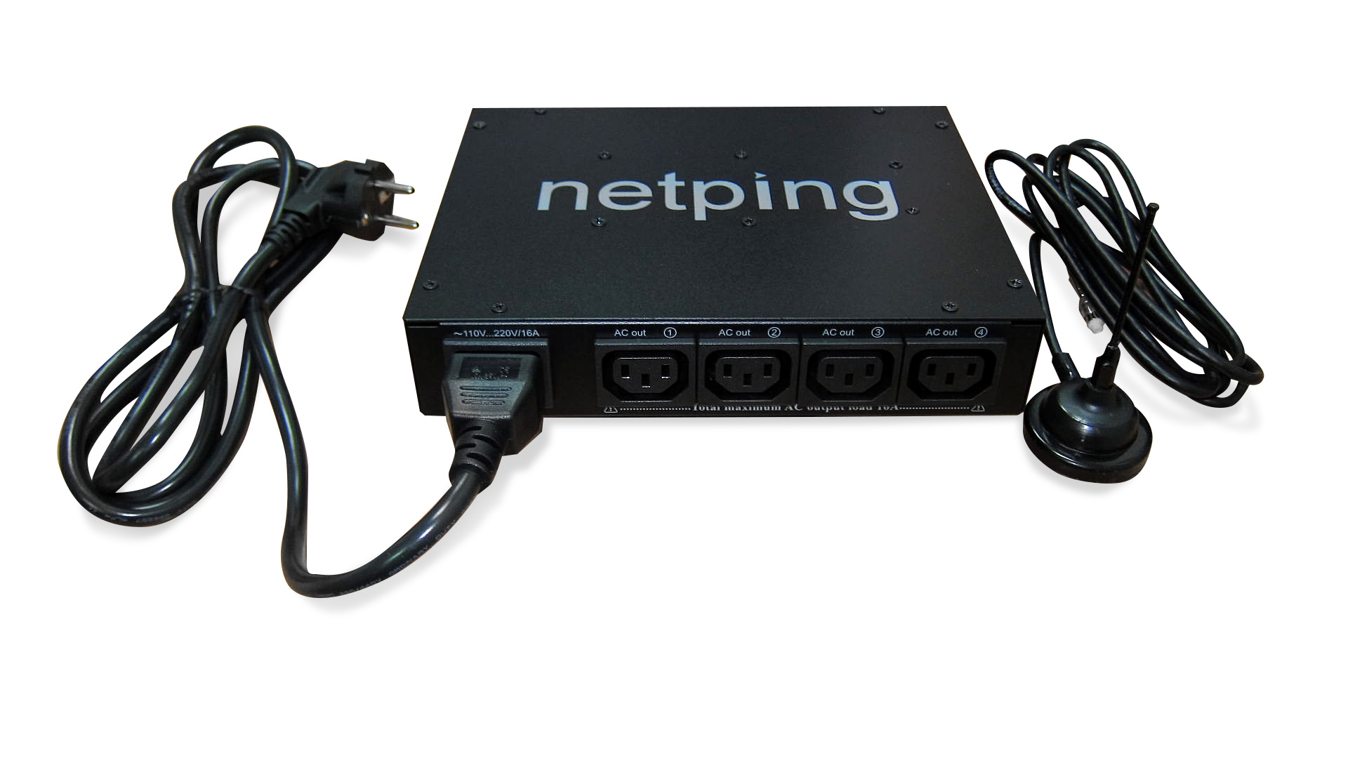 NetPing 4PWR-220 v3SMS