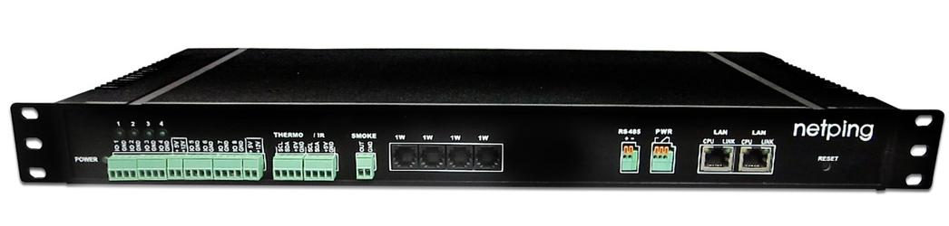 UniPing server solution v3 - внешний вид