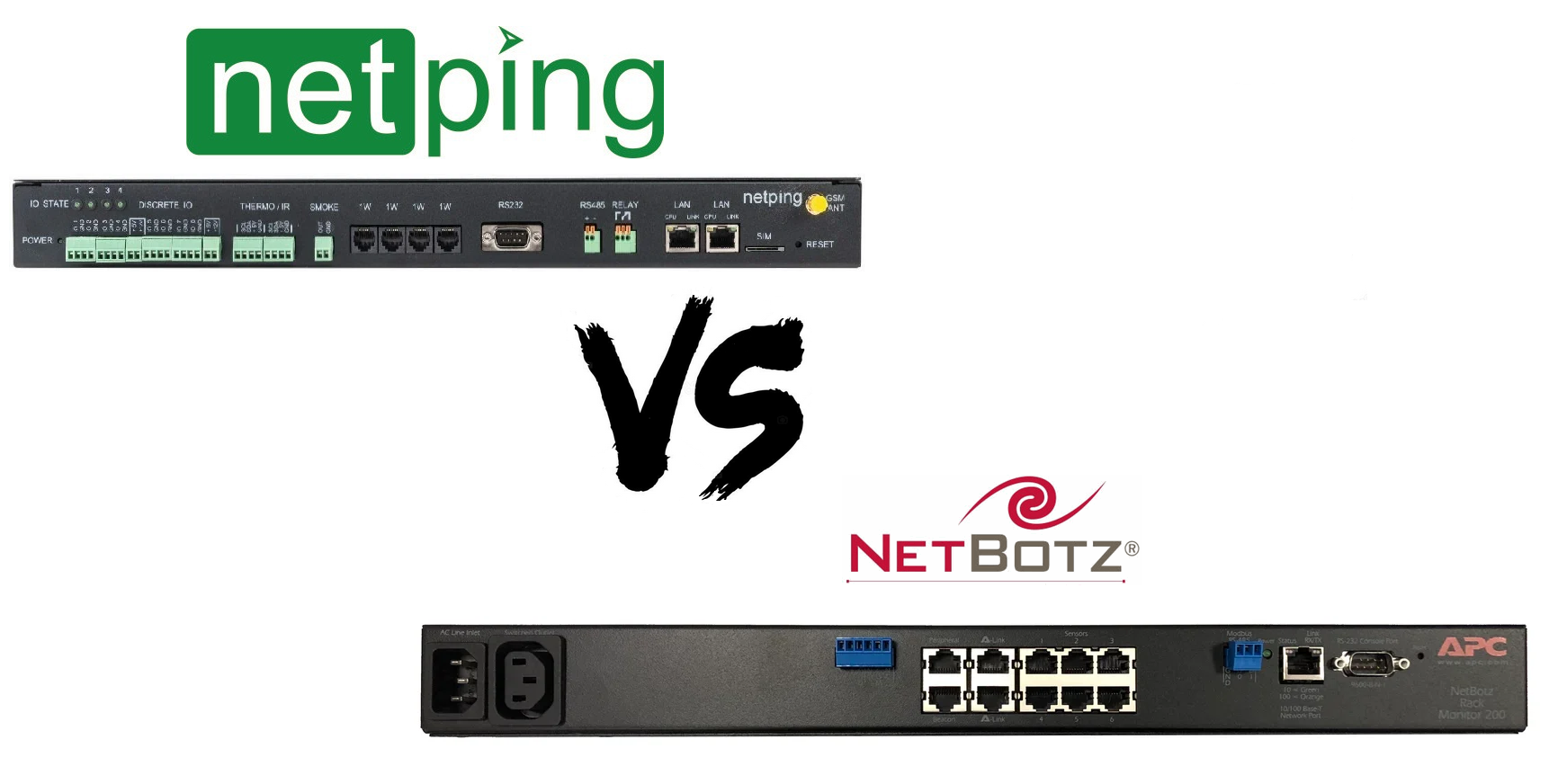 NetPing vs NetBotz