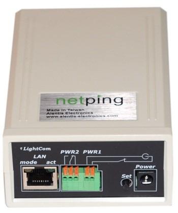 UniPing v3 - вид спереди