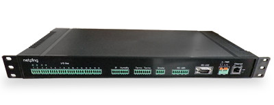UniPing server solution - вид спереди