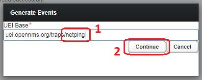 OpenNMS генерация событий для NetPing