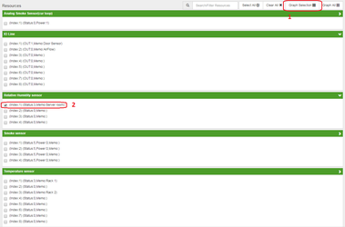 OpenNMS NetPing выбор графика