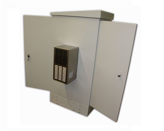 антивандальный термошкаф Амадон с устройством мониторинга UniPing v3