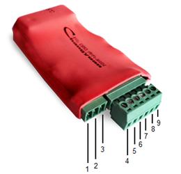 Как транслировать состояние сухих контактов по Ethernet