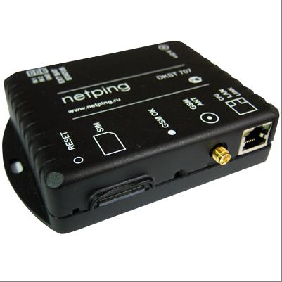 NetPing SMS - шлюз для отправки и приема SMS