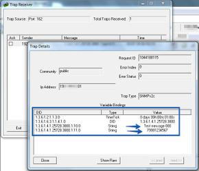 Просмотр SNMP TRAP в Trap Receiver