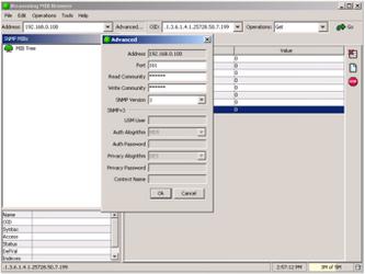 Пример чтения датчиков от устройств NetPing по SNMP при помощи iReasoning MIB Browser