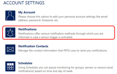 Пример настройки PRTG Network Monitor и NetPing SMS для