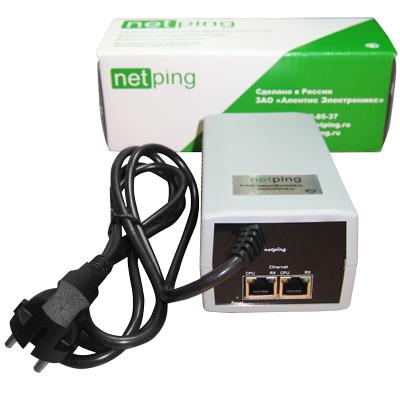 Устройство NetPing /PWR-220 v3/ETH